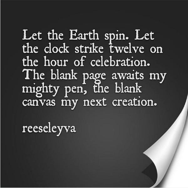 Poem - Hello 2016 by Reese Leyva